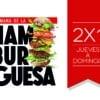 Semana de la Hamburguesa 2021: De Jueves a Domingo hay 2x1