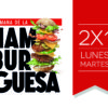 Semana de la Hamburguesa 2021: ¡Lunes y Martes 2x1!